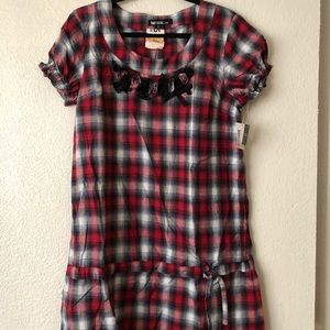 Kensie Plaid Dress